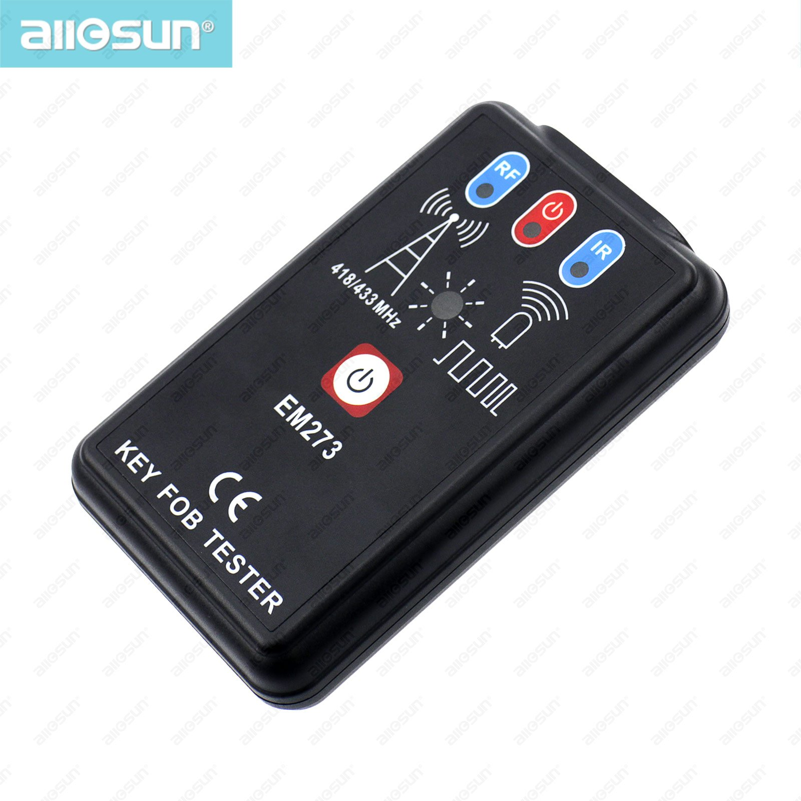 LED Key Fob Frequency Tester Checker Finder Wireless Radio Frequency Remote Control EM273 all-sun(China (Mainland))