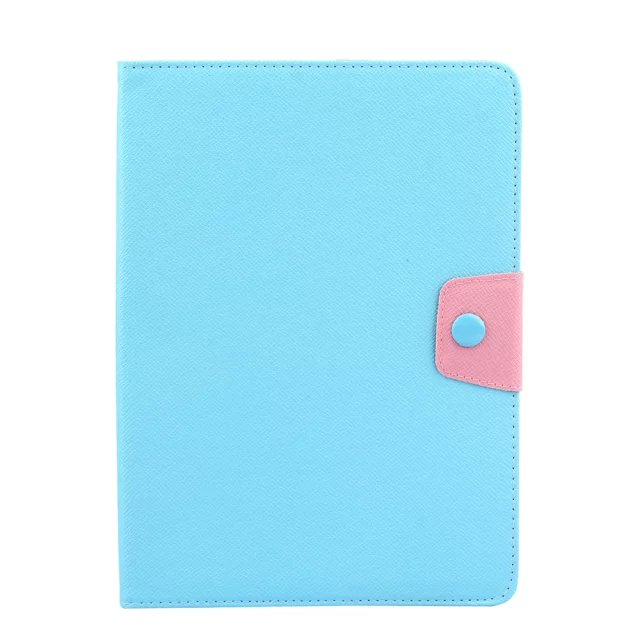 10pcs/lot For Samsung galaxy tab a t550 9.7 High quality Hit-Color PU leather wallet case with cards slots,photo frame<br><br>Aliexpress