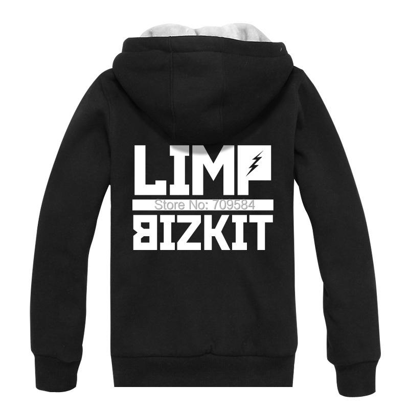 limp bizkit Limp Bizkit men hooded cotton jacket plus thick velvet autumn and winter hedging hooded(China (Mainland))