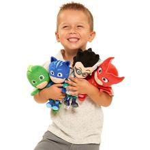 PJ 4Styles Cat Boy & Gekko & Owlette Cartoon Movie Mask Dolls & Stuffed Toys Size about 20-25cm()