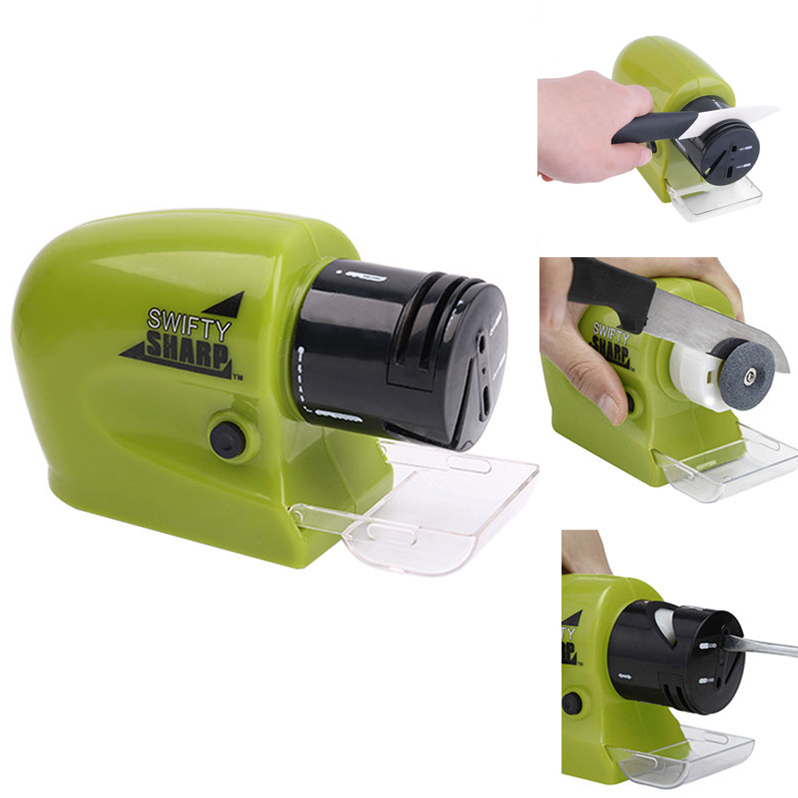 Professional Electric knife sharpener kitchen Scissors Blades Screwdrivers diamond sharpening stones system Household Sharpener(China (Mainland))