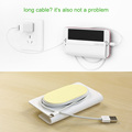 Ugreen Universal Phone Wall Holder Smartphone Charger Stand Support for Iphone 5 5s 7 Xiaomi Redmi