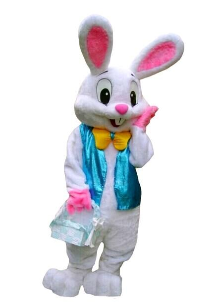 2015 new halloween costume Easter Bunny mascot costume Bugs Rabbit Hare Adult Fancy Dress Cartoon Suit Fancy Dress(China (Mainland))