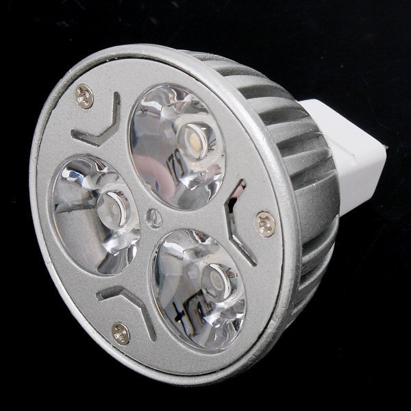 100pcs/lot CREE MR16 3x3W 9W 12V Dimmable Light lamp Bulb LED Downlight Led Bulb Warm/Pure/Cool(China (Mainland))