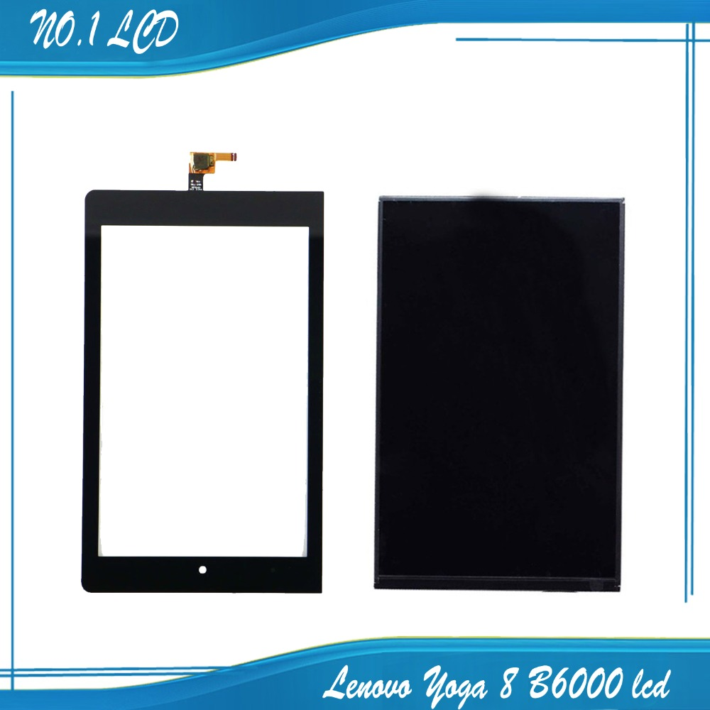 For Lenovo Yoga 8 B6000 LCD Display Panel Screen Monitor with Touch Screen Digitizer Glass Sensor Lens 100% Test<br><br>Aliexpress