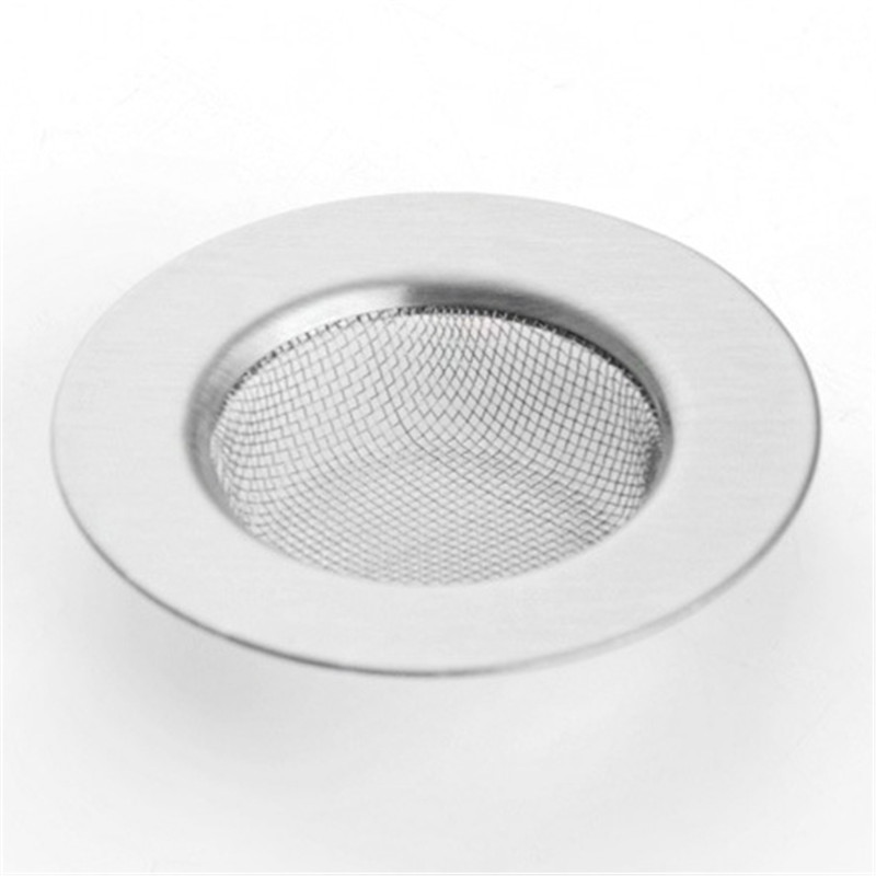 Stainless Steel Kitchen Sink Filter Anti-clogging Percolation Bathroom Drain Deodorant Prevent Clogging Cover Sheet Filtration(China (Mainland))
