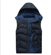 Hot! MSALE - Cotton 2015autumn and winter cold and warm down vest men, the two sides cotton vest vest female coat 6621 	(China (Mainland))