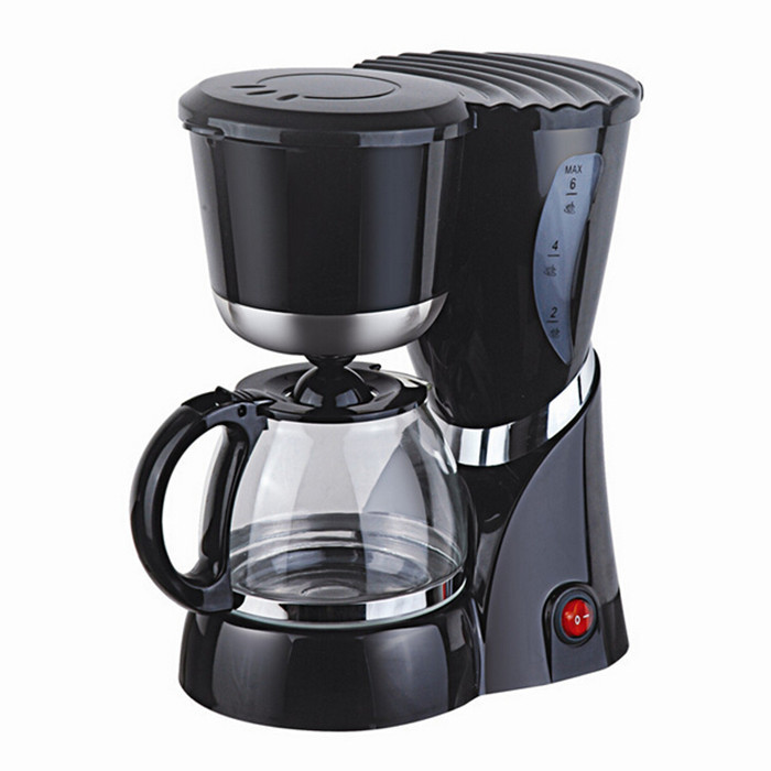 Free Shipping New Fully Automatic Household Coffee Maker Cafe American Black Dirp Coffee Machine ...