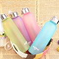 Outdoor Sport Portable Camping Cycling Travel Frosted Water Drink Bottle 400ML JS0665