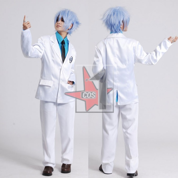 Anime Kuroko no Basuke cosplay costume TEIKO school uniform suits for Male White formal clothing set for graduation party CN0626
