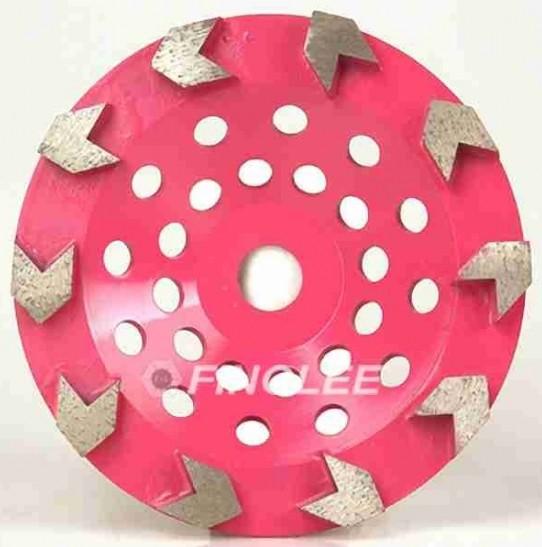 Concrete AV segment Grinding wheel