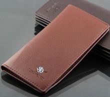 M05 Brand leather wallet men clutch bag purse for men the long wallets holder cowhide vintage