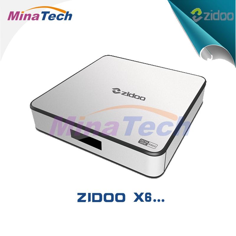 2016 [Genuine] RK3368 ZIDOO X6 Pro Android 5.1 TV Box 2GB/16GB Octa Core Cortex-A53 1000M LAN 2.4G/5G Dual WIF4K*2K 3D KODI ZDMC(China (Mainland))