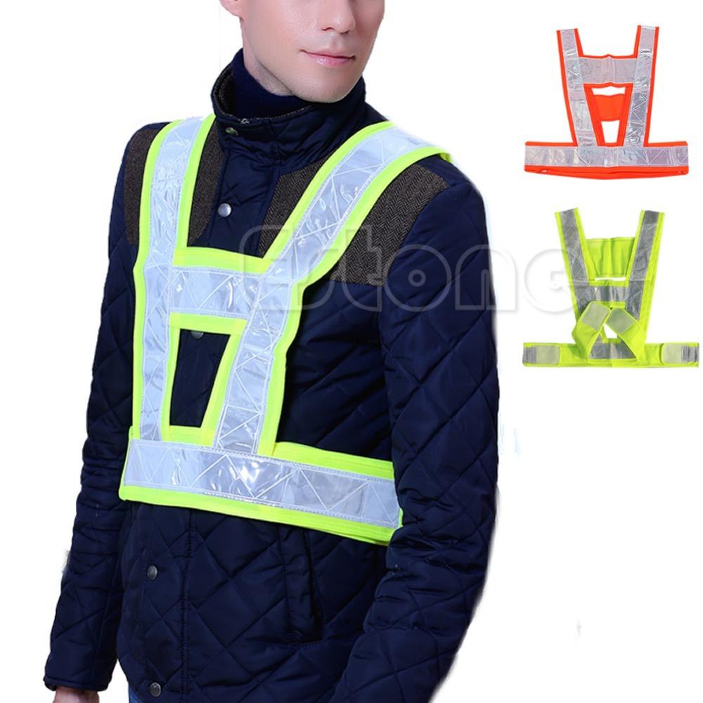 F85 бесплатная доставка привет Vis высокое виз видимость жилет жилет куртка безопасность безопасность отражающий пальто