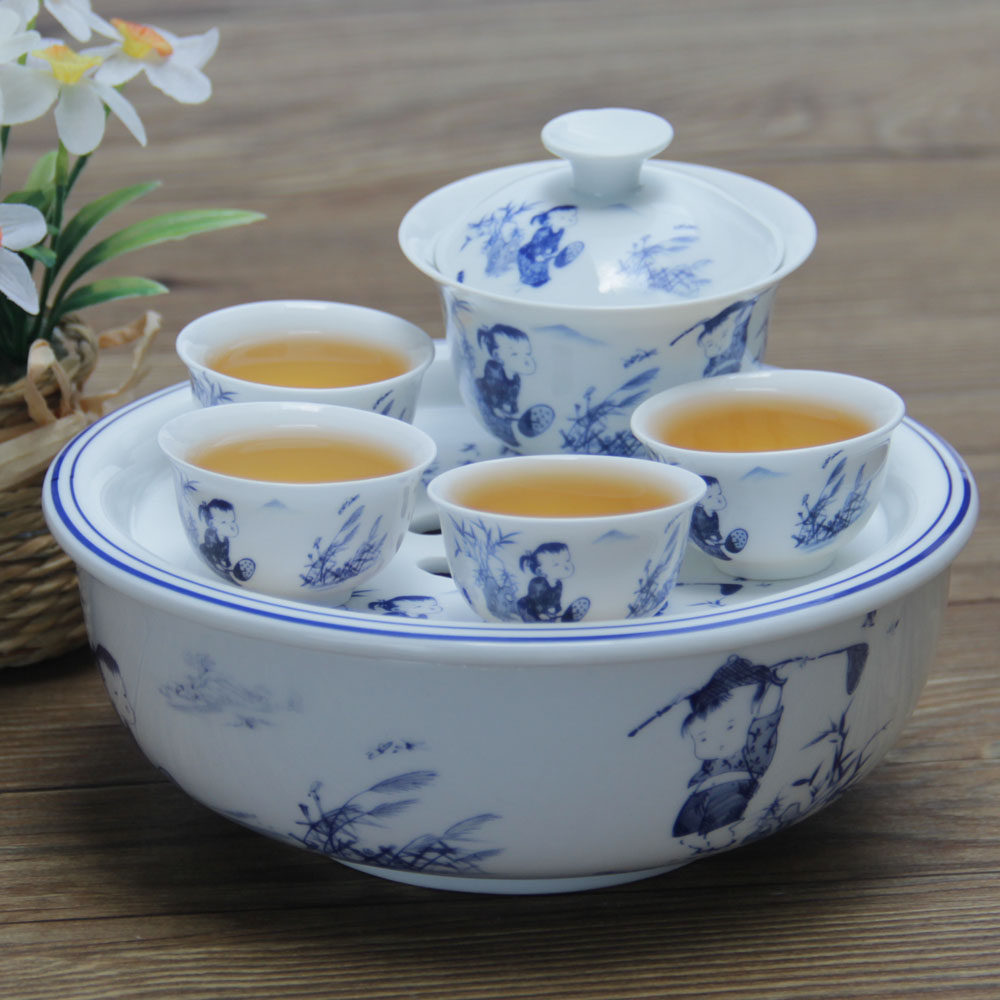 2014 coffee cup drinkware tea tray chaozhou for kongfu tea tourism portable set a complete of