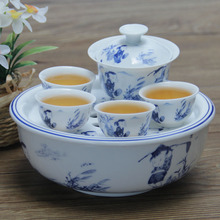 2014 coffee cup drinkware tea tray chaozhou for kongfu tea tourism portable set a complete of and porcelain hot wholesale cups