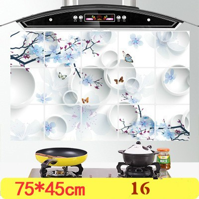 CC001 75*45cm Kitchen Wall Stickers Foil oil sticker Decal Home Decor Art Accessories Decorations Supplies items Products