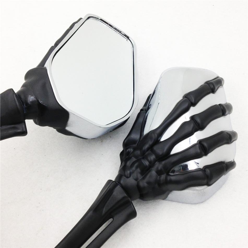 motorcycle partsClaw Skull Mirror  Heritage Springer Sportster Dyna Glide Softail V Rod BK<br><br>Aliexpress