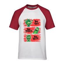 2018 Venta caliente Pickle Rick camiseta hombres ricka y morty hombre o-cuello camiseta Geek Tee el Ecstasy of Universe camisetas de cómic rick(China)