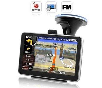 HOT 5 Inch Touch Screen Car Navigator GPS Navigation Sat Nav 4GB 2015 Free Map FM Transmitter MP3 MP4 Player for Navigator GPS