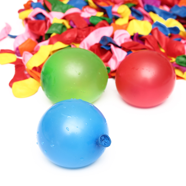 500Pcs/lot Water Bombs Colorful Latex Balloons for Party Children Toy Home Decorate(China (Mainland))