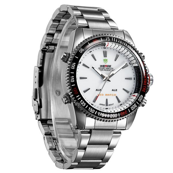 Watches men luxury brand WEIDE 843 dive LED watches sport Military Watch quartz watch men wristwatches relogio masculino<br><br>Aliexpress
