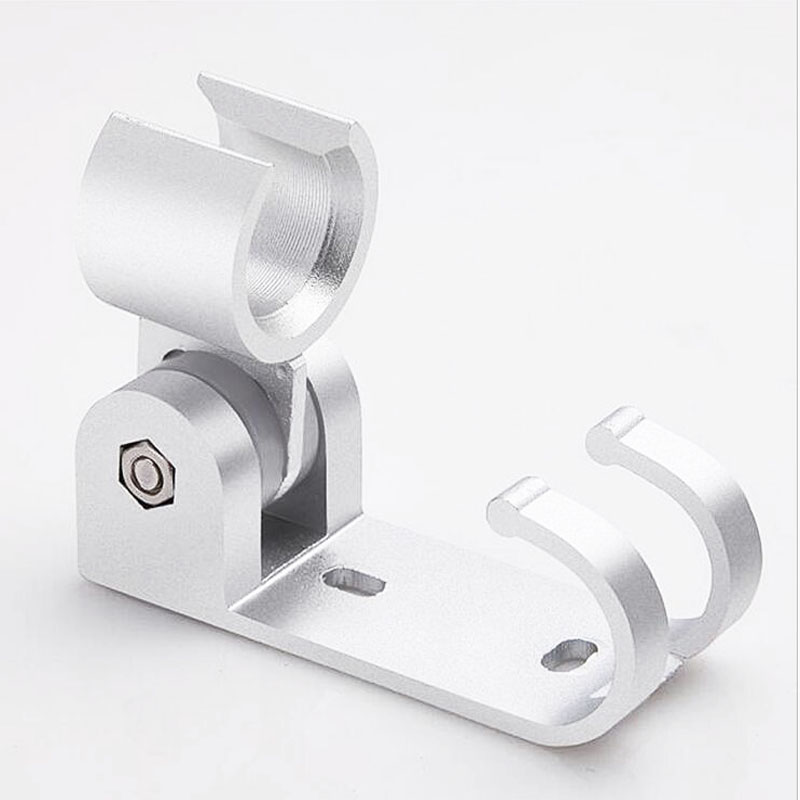 1 Pc Adjustable Aluminum Bathroom Hand Shower Head Stand Holder Fixed Seat Bracket Wall Mount Bath Hardware Accessories(China (Mainland))