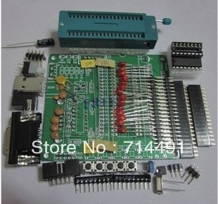The the DIY learning board kit Set parts 51/AVR of microcontroller development board to learn STC89C52
