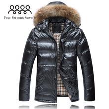 FPP DC402 2015 Winter Jacket Men High Qualtiy Down Coat Men Clothes Winter Ourdoor Warm Sport Jacket Black