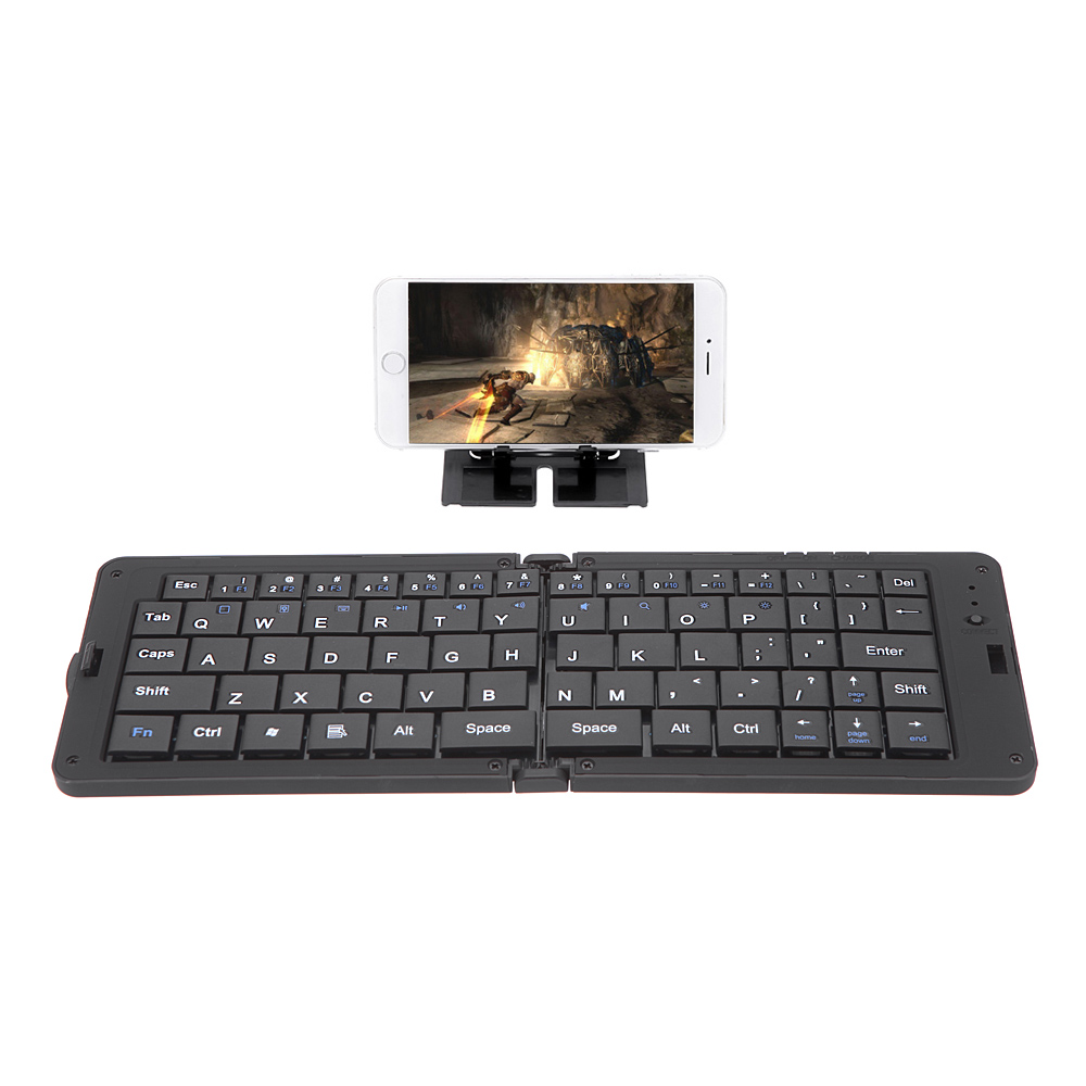 Wireless Keyboard Bluetooth 3.0 Folding Folded Keyboard for iPhone Google Samsung Android Smartphone Tablet Laptop(China (Mainland))