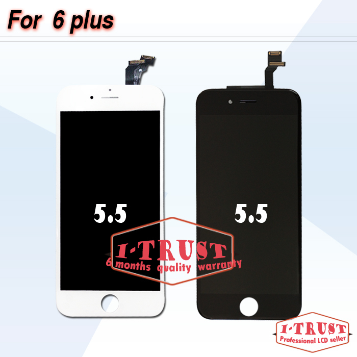 Original Brand NEW LCD Display Touch Screen Digitizer assembly For Apple iPhone 6 Plus 5.5 inch(China (Mainland))