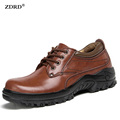 New Brand 2016 Autumn Winter Men Casual Shoes High Quality Genuine Leather Men Flats Shoes Comfortable