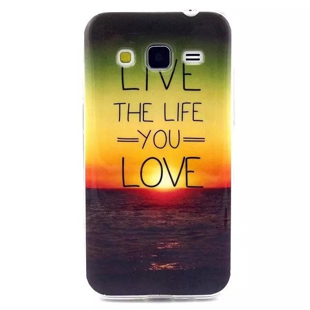 Luxury TPU Phone Shell for Samsung Galaxy Core Prime & Core Prime 4G & Core Prime Duos & Core Prime VE LTE G361 G360 Case Cover