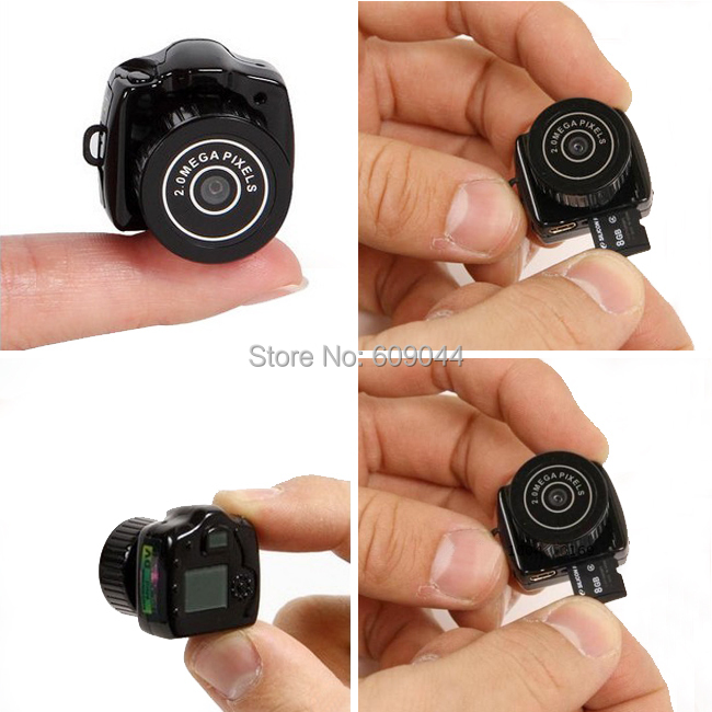 Wholesale/retail Smallest Mini Camera Camcorder Video Recorder DVR Spy Hidden Pinhole Web cam(China (Mainland))