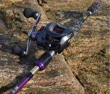 2.1M LT Lure Fishing Rod Combo 18 bearing Casting Fishing Reel Fishing Lure and Fishing Tackle Set pesca EMS Free Shipping(China (Mainland))