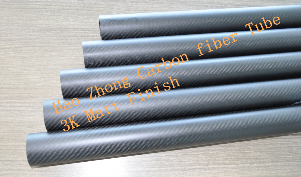 8 pcs 30MM OD x 26MM ID  x 1000MM (1m) 100% Roll 3k Carbon Fiber tube / Tubing /pipe, wing tube Quadcopter arm Hexrcopter 30*26<br><br>Aliexpress