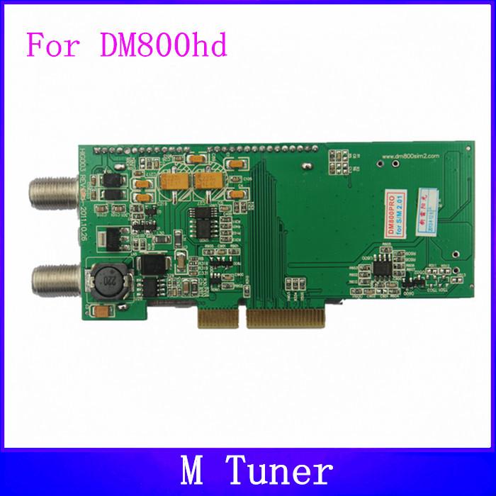 Anewkodi DM800 tuner M tuner for dreambox 800hd and dreambox 800hd DVB-S se satellite receiver(China (Mainland))