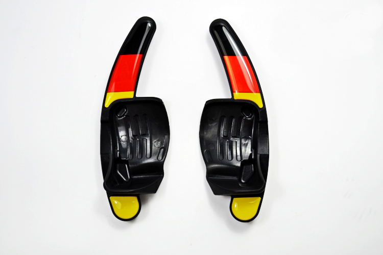 Steering Wheel DSG Paddle Extension German flag FIT VW MK6 Golf GTI R SCIROCCO R20 R36 CC - nrz Official Store store