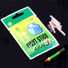 50Pcs 3*25mm Fluorescent Chemical Glow Sticks Green Lightstick for Fishing US#V