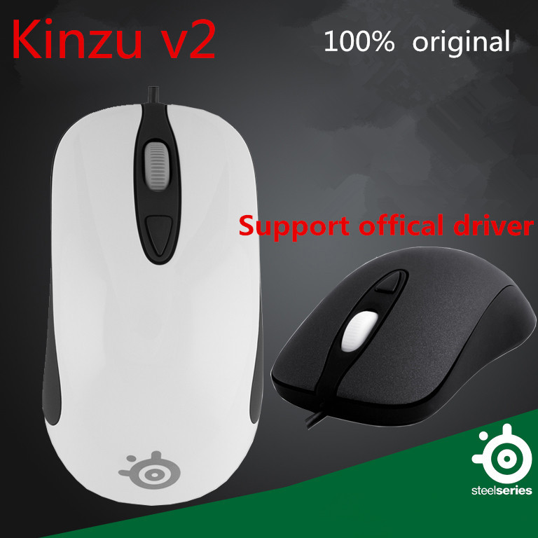 Brand Steelseries kinzu v2 Gaming Computer Mouse professional computer mice logitech mouse for CS LOL DOTA gamer(China (Mainland))
