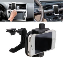 Black Car Air Vent Phone Mount Holder Mobile Stand Cradle For GPS/HTC/One M8 iPhone/Samsung/Nokia/Blackberry/LG Interior Parts(China (Mainland))