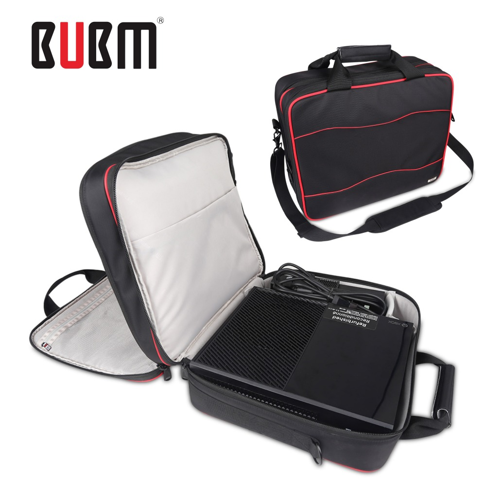 BUBM xbox one game console playstation carrying case receiving bag storage organizer XBOX 360 game bag game controller case bag(China (Mainland))