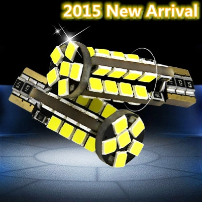 2pcs T10 High bright 38 led 2835 smd auto Clearance Lights W5W 194 car marker light parking bulbs reading lamp canbus error free(China (Mainland))