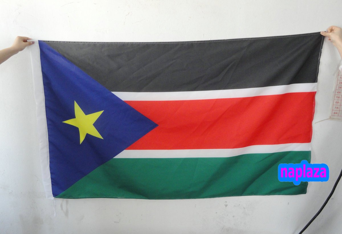 south sudan flag 3x5 ft(China (Mainland))
