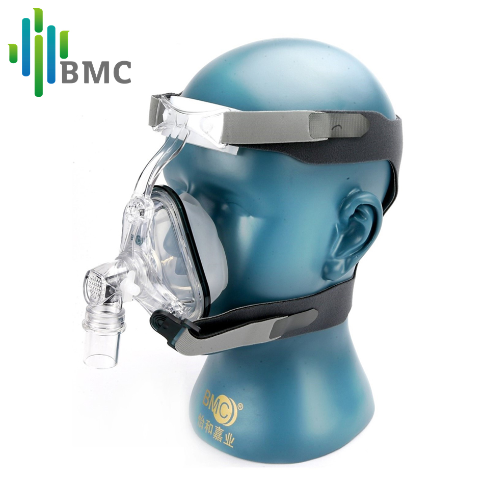 BMC NM1 Nasal Mask With Headgear For CPAP Machine Sleep Snoring Therapy Size(S/M/L) Patient's Interface(China (Mainland))