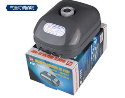 Hot Sunsun Air Pump Aquarium Electromagnetic Oxygen HP-1116 Silent Aerator Fish Luchtpomp - Woman Worlds store