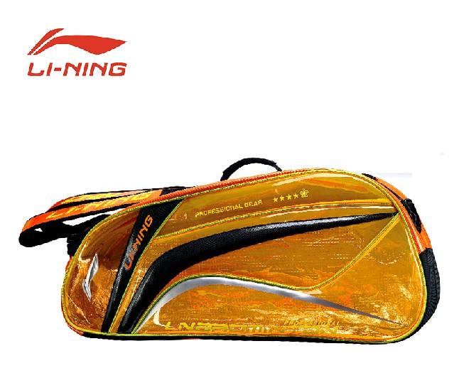 100% Original Lining Badminton Rackets Bag 2015 Newest 9/6 Racquets Badminton Bag Li-ning ABJJ054/ABJK032/ABJK034 Backpack L299(China (Mainland))