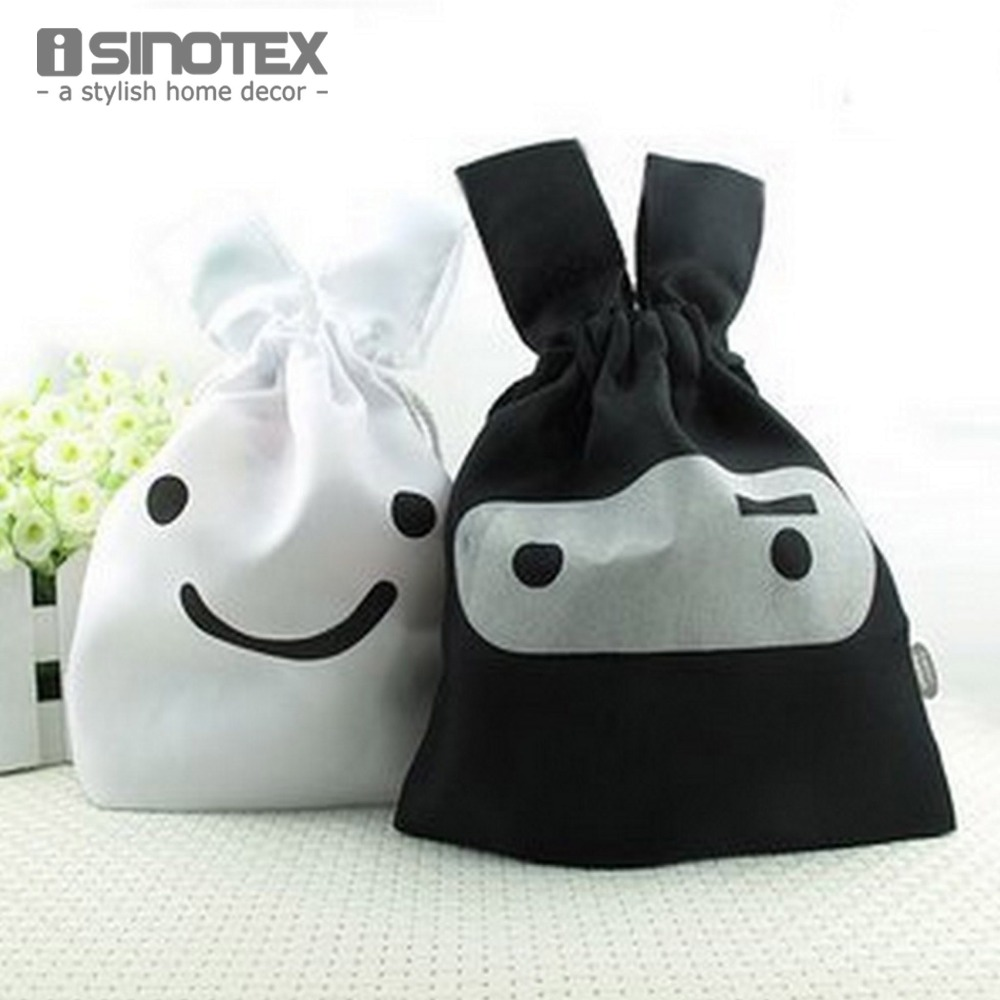 2 pcs/pack Cute Rabbit Shape Home Storage Bag Drawstring Travel Storage Set Stuff Bag Girls Cosmetic Bags(China (Mainland))