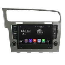 Cortex A9 HD1024*600 Quad Core CPU 16GB Android 4.4.4 Car DVD Player Radio GPS Navi Stereo for Volkswagen Golf 7 2013 2014 2015