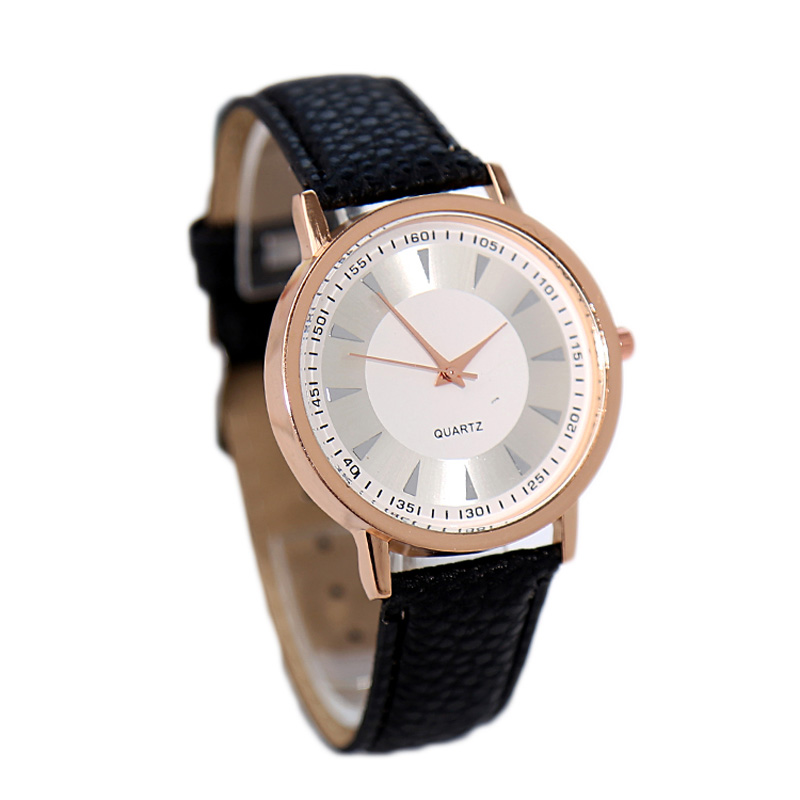 Buy Brand New Fashion Pu Leather Strap Watches Simple Style Design Quartz